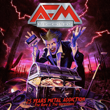 25 Years - Metal Addiction (Digipack, 2 CDs)