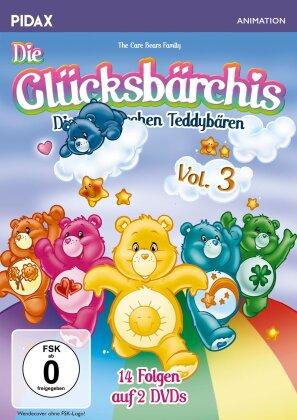 Die Glücksbärchis - Vol. 3 (Pidax Animation, 2 DVDs)