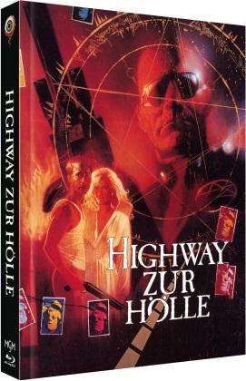 Highway zur Hölle (1991) (Cover D, Limited Edition, Mediabook, Uncut, Blu-ray + DVD)