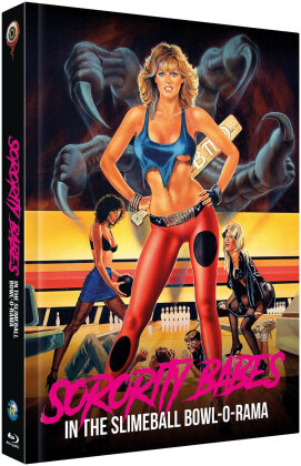 Sorority Babes in the Slimeball Bowl-O-Rama (1988) (Cover A, Limited Edition, Mediabook, Uncut, Blu-ray + DVD)