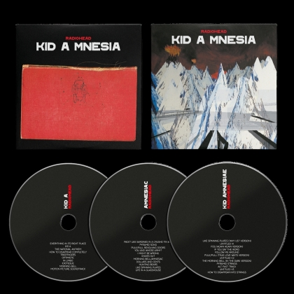 Radiohead - Kid A Mnesia (2021 Reissue, 3 CDs)