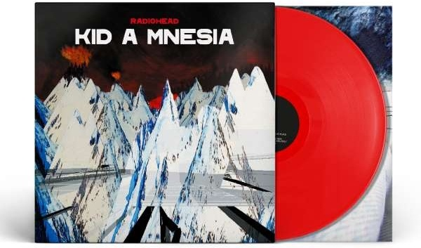 Radiohead - Kid A Mnesia (2021 Reissue, Combined & Expanded, XL Recordings, + Bonustracks, Limited Edition, Red Vinyl, 3 LPs)