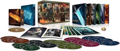 Le Hobbit et Le Seigneur des Anneaux - Les Trilogies (Limited Edition, 15 4K Ultra HDs + 16 Blu-rays)