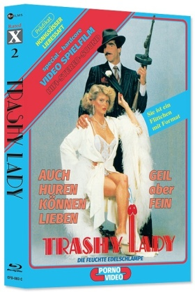 Trashy Lady - Ginger Lynn Double Feature (Cover C, Rated X, Edizione Limitata, Mediabook, 2 Blu-ray + Audiolibro)