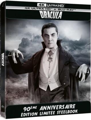 Dracula (1931) (Edizione 90° Anniversario, n/b, Steelbook, 4K Ultra HD + Blu-ray)