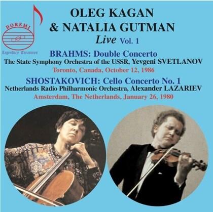 Johannes Brahms (1833-1897), Oleg Kagan & Natalia Gutman - Oleg Kagan & Natalia Gutman 1