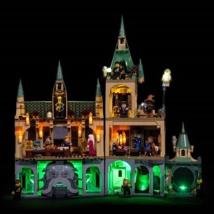 Light My Bricks - LED Licht Set für LEGO® 76389 Harry Potter Hogwarts Kammer des Schreckens