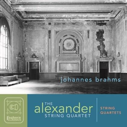 The Alexander String Quartet & Johannes Brahms (1833-1897) - String Quartets (2 CDs)
