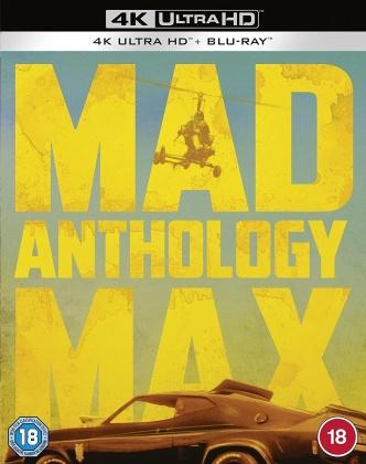 Mad Max Anthology (4 4K Ultra HDs + 4 Blu-rays)