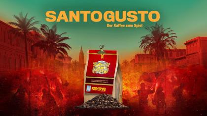 Santo Gusto – der offizielle FAR CRY 6 Kaffee 500gr ganze Bohne (Paperbag) (Crema) (PlayStation 5 + Xbox Series X)