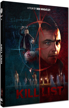 Kill List (2011) (Cover A, Wattiert, Edizione Limitata, Mediabook, Blu-ray + DVD)