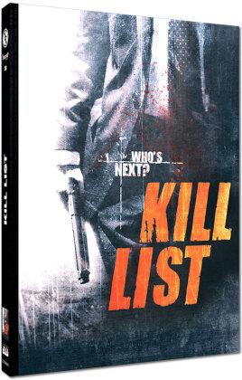 Kill List (2011) (Cover C, Edizione Limitata, Mediabook, Blu-ray + DVD)