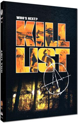 Kill List (2011) (Cover D, Edizione Limitata, Mediabook, Blu-ray + DVD)