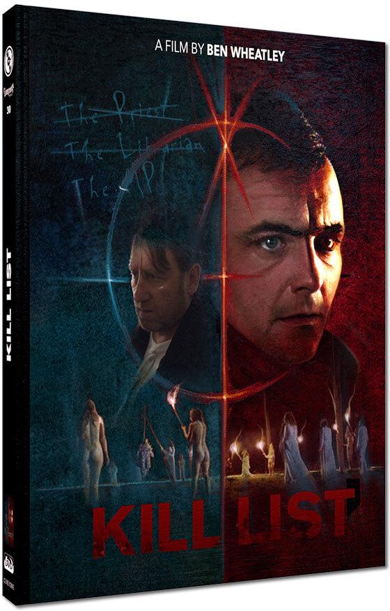 Kill List (2011) (Cover E, Limited Edition, Mediabook, Blu-ray + DVD)