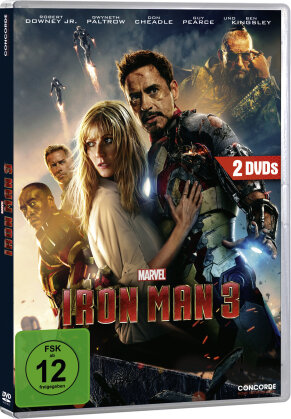 Iron Man 3 (2013) (Limited Edition, 2 DVDs)