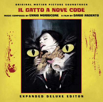 Ennio Morricone (1928-2020) - Il Gatto A Nove Code: Cat O'nine Tails - OST (Poster, 2021 Reissue, Rustblade, Box, Deluxe Edition, Limited Edition, 2 LPs)