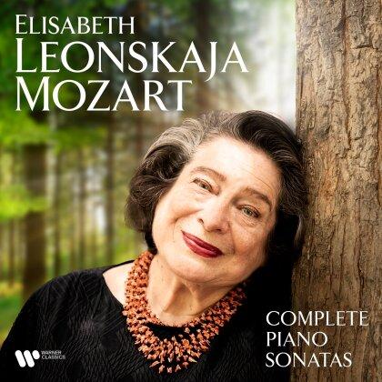 Wolfgang Amadeus Mozart (1756-1791) & Elisabeth Leonskaja - Sämtliche Klaviersonaten (6 CDs)
