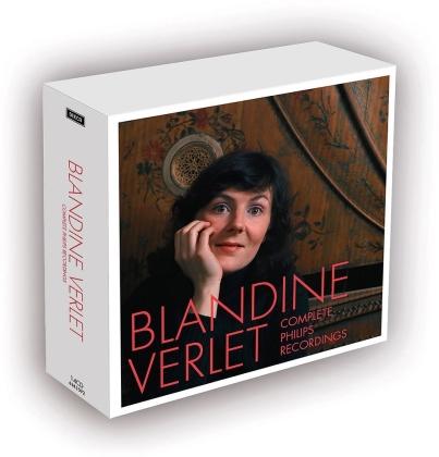 Blandine Verlet, Johann Sebastian Bach (1685-1750), Domenico Scarlatti (1685-1757) & Wolfgang Amadeus Mozart (1756-1791) - Sämtliche Aufnahmen Auf Philips (14 CDs)