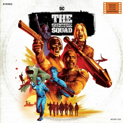Suicide Squad (OST) & Steven Price - Original Score (2021 Reissue, Mondo Movies, LP)