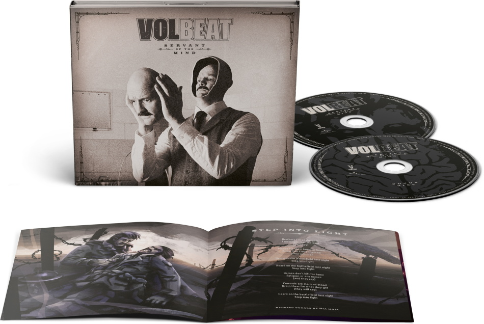 Volbeat - Servant Of The Mind (DigiPak, Limited Deluxe Edition, 2 CDs)