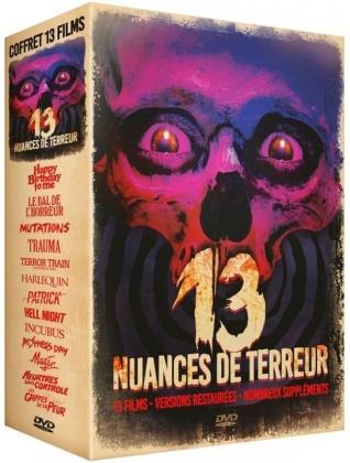 13 nuances de terreur - 13 films (Restaurierte Fassung, 13 DVDs)