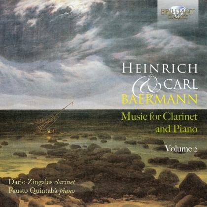 Dario Zingales, Fausto Quintaba, Heinrich Baermann (1784-1847) & Carl Bärmann (18111-1885) - Music For Clarinet And Piano Volume 2