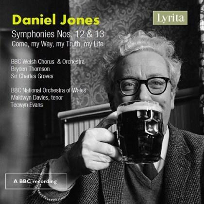 Daniel Jones (1912-1993), Tecwyn Evans, Maldwyn Davies & BBC Welsh Symphony Orchestra - Symphonies 12 & 13