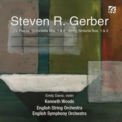 Steven R. Gerber, K3, Kenneth Woods, English String Orchestra & English Symphony Orchestra - Orchestral Works