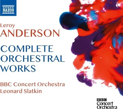 Leroy Anderson, Leonard Slatkin & BBC Concert Orchestra - Complete Orchestral Works (5 CDs)