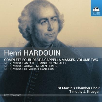 Henri Hardouin, Timothy J. Krueger & St. Martin's Chamber Choir - Complete Four-Part 2