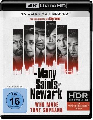 The Many Saints of Newark - A Sopranos Story (2021) (4K Ultra HD + Blu-ray)