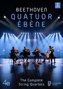 Quatuor Ebene - Sämtliche Streichquartette (6 DVDs)