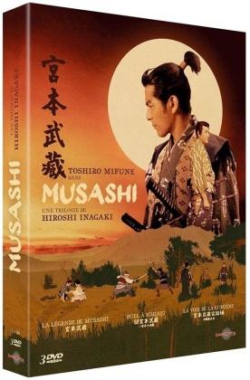 Musashi - Une trilogie de Hiroshi Inagaki - La légende de Musashi / Duel à Ichijôji / La voie de la lumière (3 DVD)