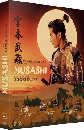 Musashi - Une trilogie de Hiroshi Inagaki - La légende de Musashi / Duel à Ichijôji / La voie de la lumière (2 Blu-ray)