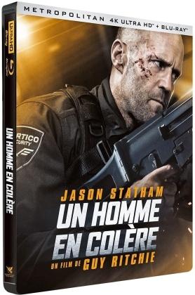 Un homme en colère (2021) (Limited Edition, Steelbook, 4K Ultra HD + Blu-ray)