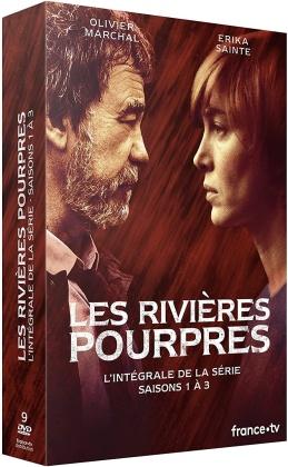 Les rivières pourpres - Saisons 1-3 (9 DVDs)