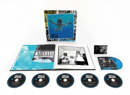 Nirvana - Nevermind (2021 Reissue, Deluxe Box Edition, 30th Anniversary Edition, 5 CDs + Blu-ray)