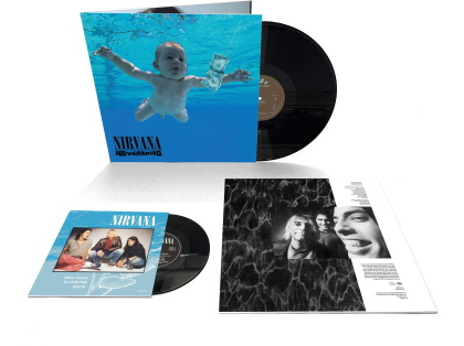 "Nirvana - Nevermind (2021 Reissue, Gatefold, 30th Anniversary Edition, LP + 7"" Single)"