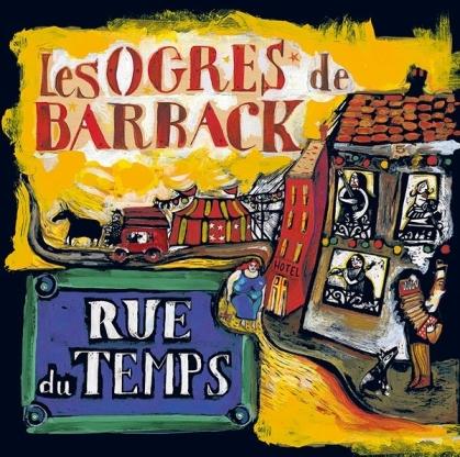 Les Ogres De Barback - Rue Du Temps (2021 Reissue, Irfan, LP)