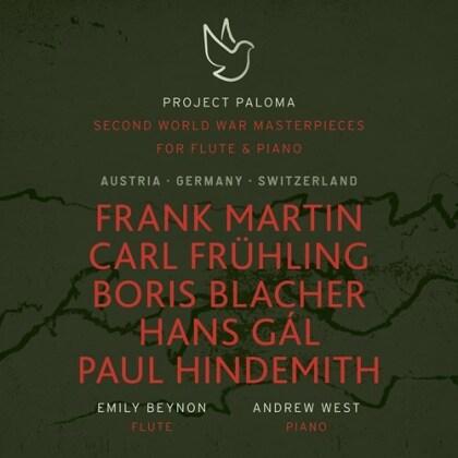 Frank Martin (1890-1974), Carl Frühling (1868-1937), Boris Blacher, Hans Gál, Paul Hindemith (1895-1963), … - Second World War Masterpieces