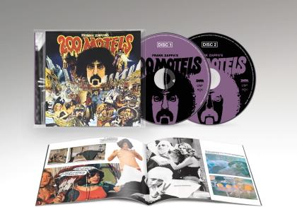 Frank Zappa - 200 Motels - OST (2021 Reissue, 2 CD)