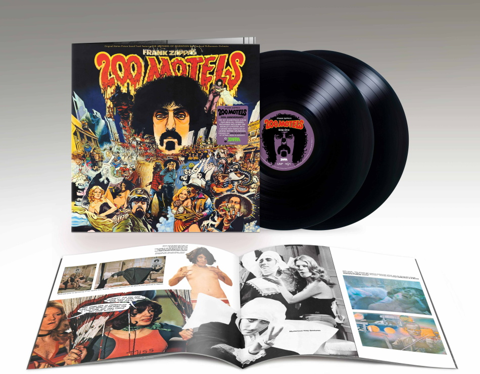 Frank Zappa - 200 Motels - OST (2021 Reissue, Limited Edition, 2 LPs)