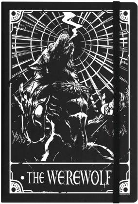 Deadly Tarot: The Werewolf - A5 Hard Cover Notebook