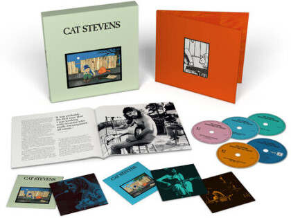 Yusuf (Cat Stevens) - Teaser And The Firecat (2021 Reissue, Boxset, Deluxe Edition, 4 CDs + Blu-ray)