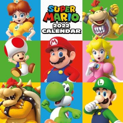 Super Mario - 2022 Square Calendar