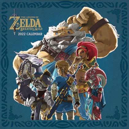 The Legend of Zelda - 2022 Square Calendar