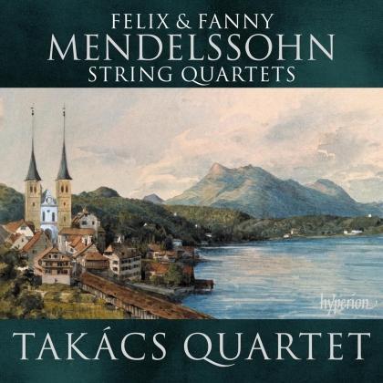 Takacs Quartet, Fanny Hensel-Mendelssohn (1805-1847) & Felix Mendelssohn-Bartholdy (1809-1847) - String Quartets