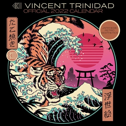Vincent Trinidad - 2022 Square Calendar