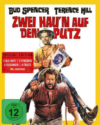 Zwei hau'n auf den Putz (1969) (Cover A, Mediabook, Special Edition, 2 Blu-rays + CD)