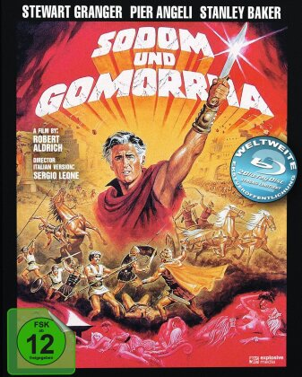 Sodom und Gomorrha (1962) (Cover B, Mediabook, 2 Blu-rays)